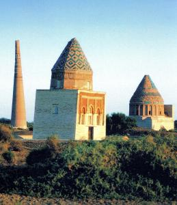Mausoleums of Il Arslan, Muhammet Tekesh & Minaret of Kutlug Timur