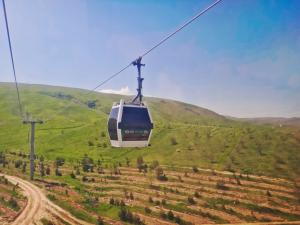 Ride Up The Ashgabat Cable Car